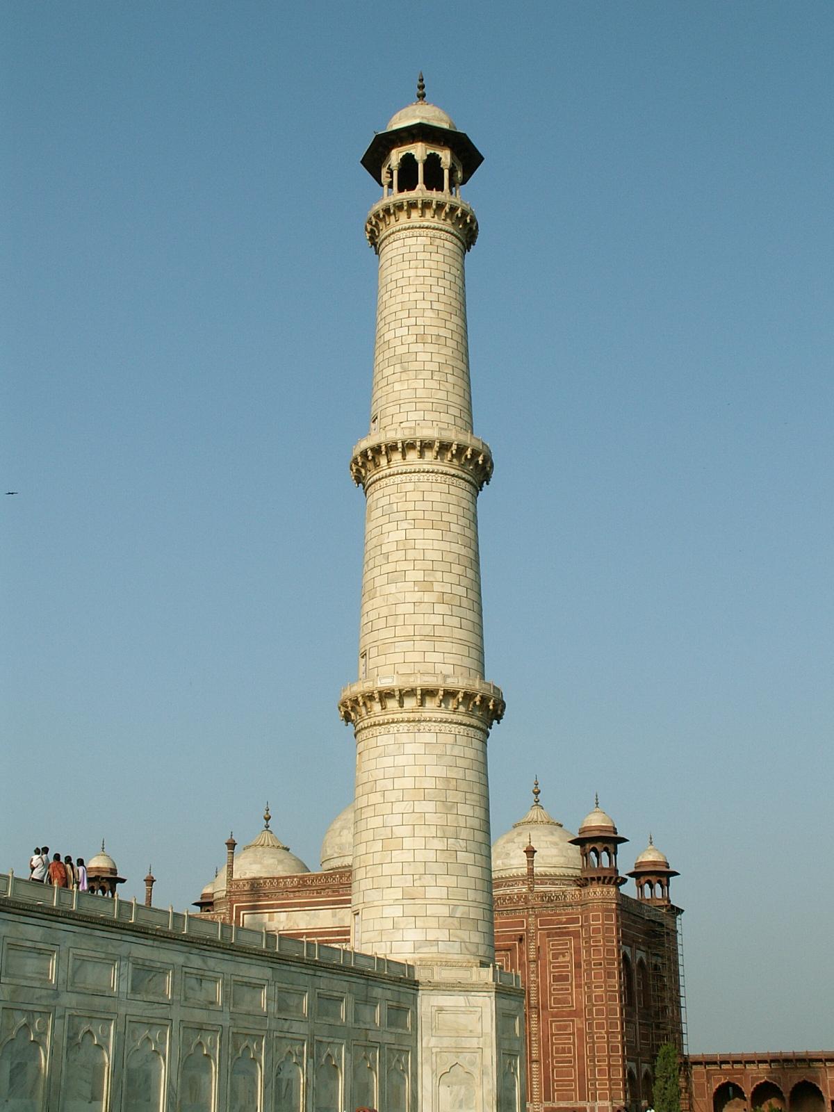 Sergej Marsnjak India North Agra Taj Mahal Minaret