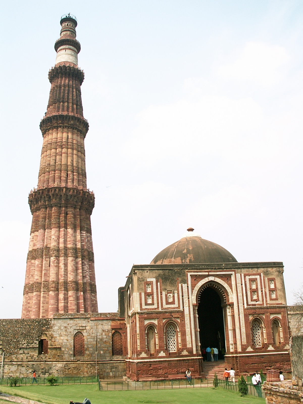 Sergej Marsnjak India North Delhi Qutb Minar