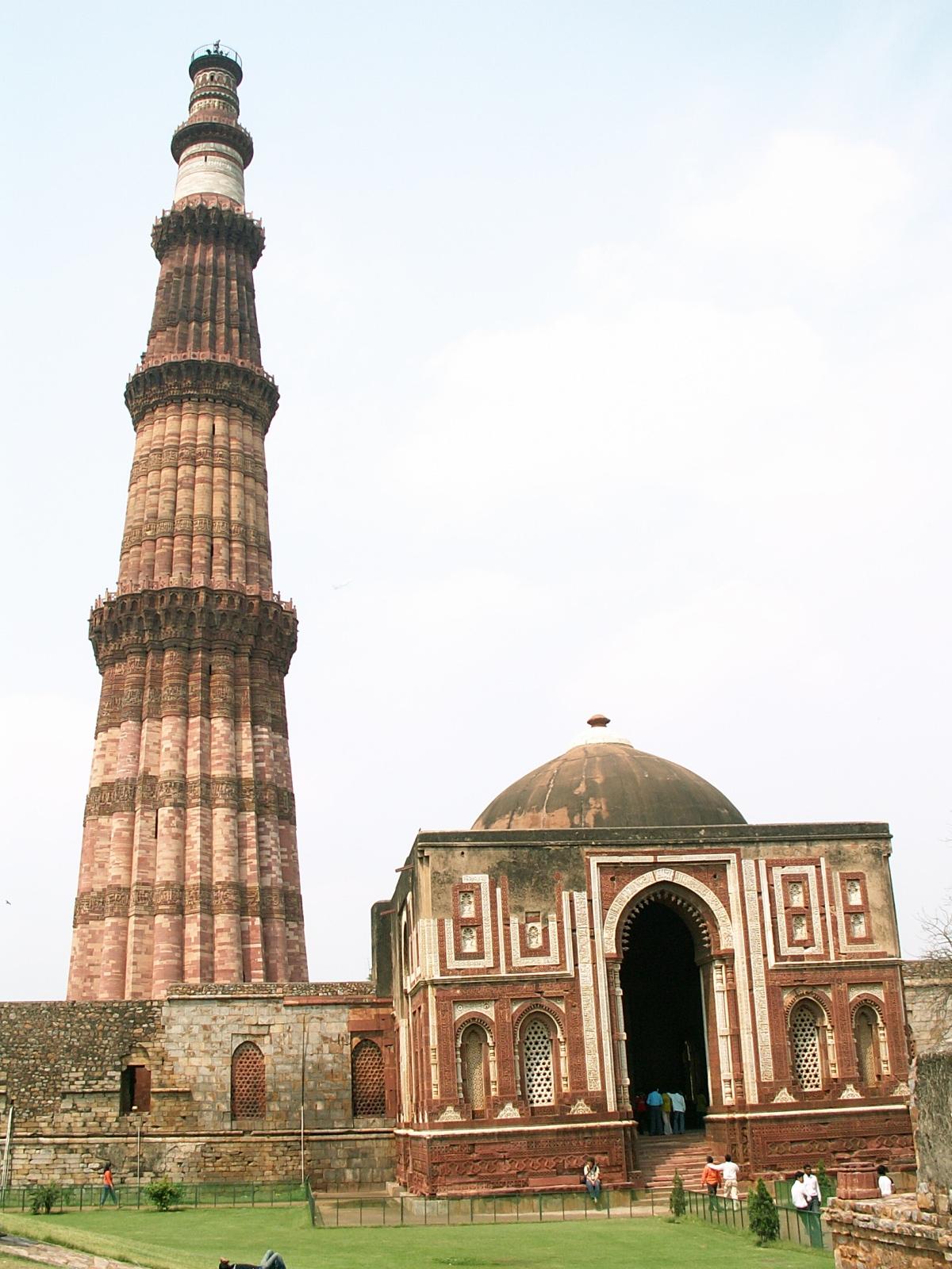 sergej marsnjak india north delhi qutb minar